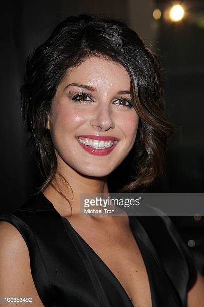 Shenae Grimes arrives to the 35th Annual Gracie Awards Gala held at The Beverly Hilton hotel on May 25 2010 in Beverly Hills California