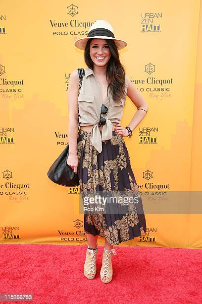 Shenae Grimes attends the 2011 Veuve Clicquot Polo Classic at Governor's Island on June 5 2011 in New York City