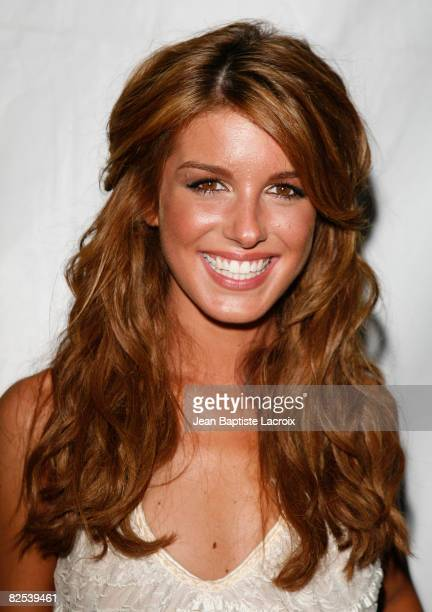 Shenae Grimes attends the CW Network's 90210 Premiere Party on August 23, 2008 in Malibu, California.