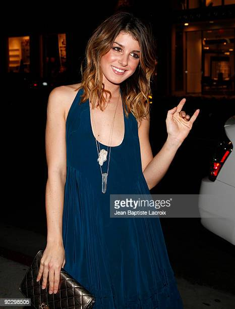 Shenae Grimes sighting in Beverly Hills on October 22 2009 in Los Angeles California