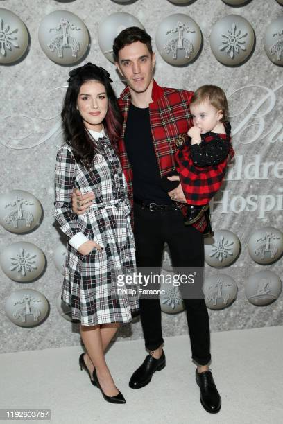 Shenae GrimesBeech and Josh Beech attend Brooks Brothers Annual Holiday Celebration To Benefit St Jude at The West Hollywood EDITION on December 07...