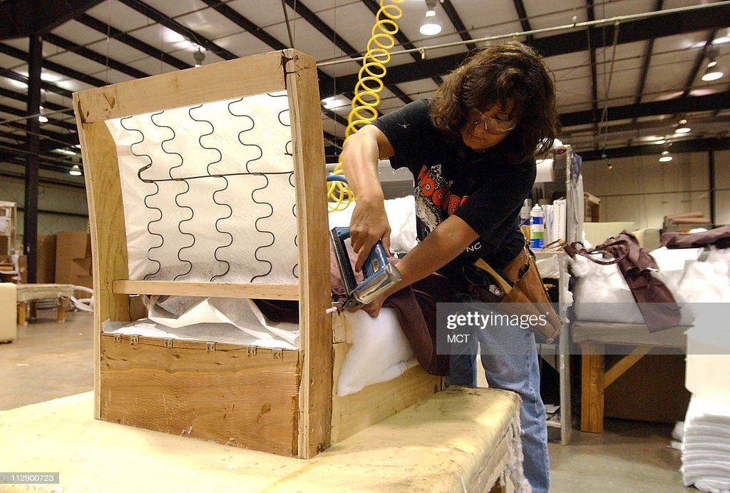 Shenandoah Furniture Company Employee Sherri Wyatt Upholster