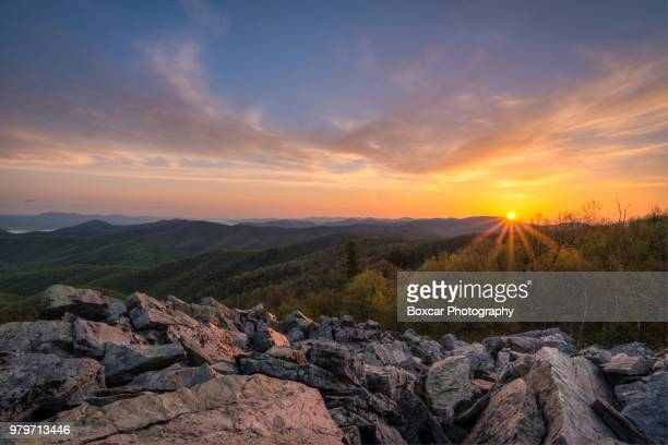 Shenandoah National Park at sunrise, Virginia, USA