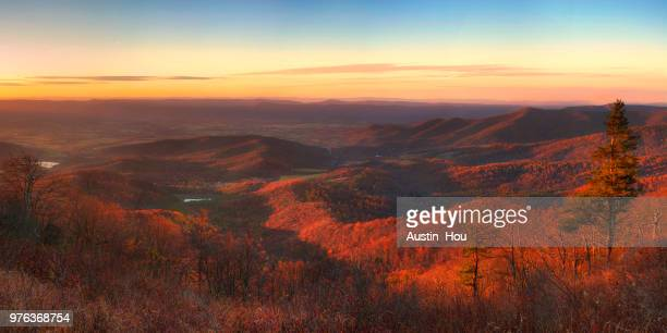 Shenandoah national park panoramic view, Virginia, USA