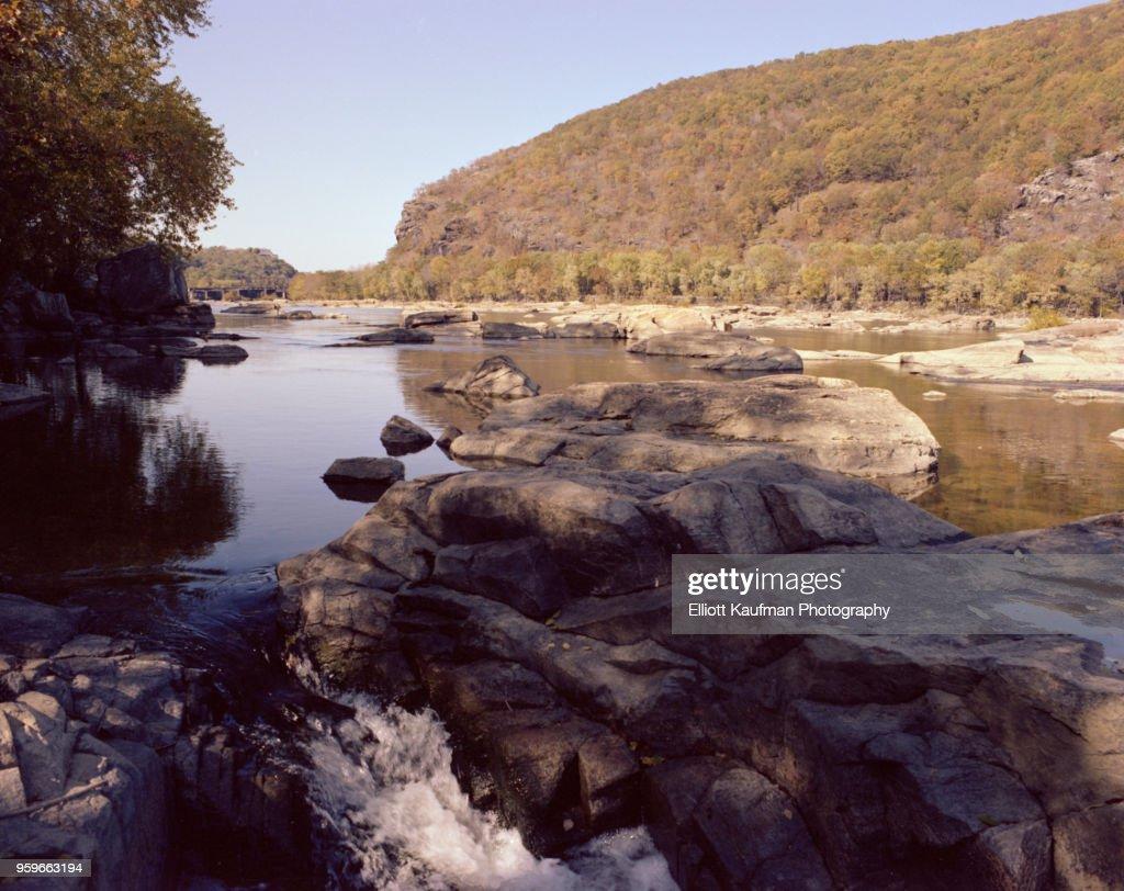 Shenandoah river in West Virgina : Stock-Foto