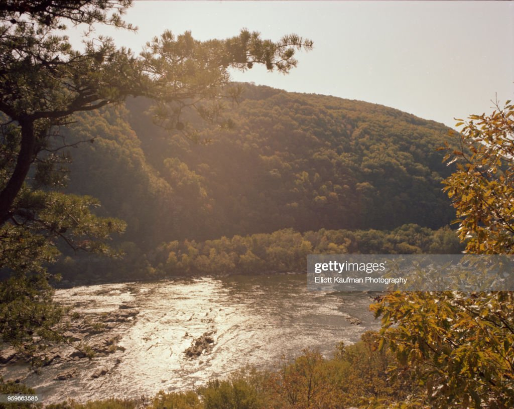 Shenandoah river in West Virgina : Foto de stock