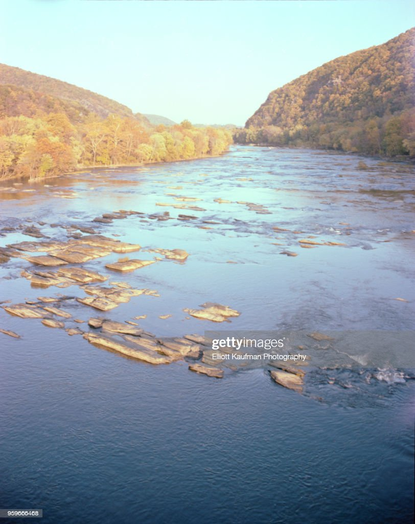 Shenandoah river in West Virgina : Stock-Foto