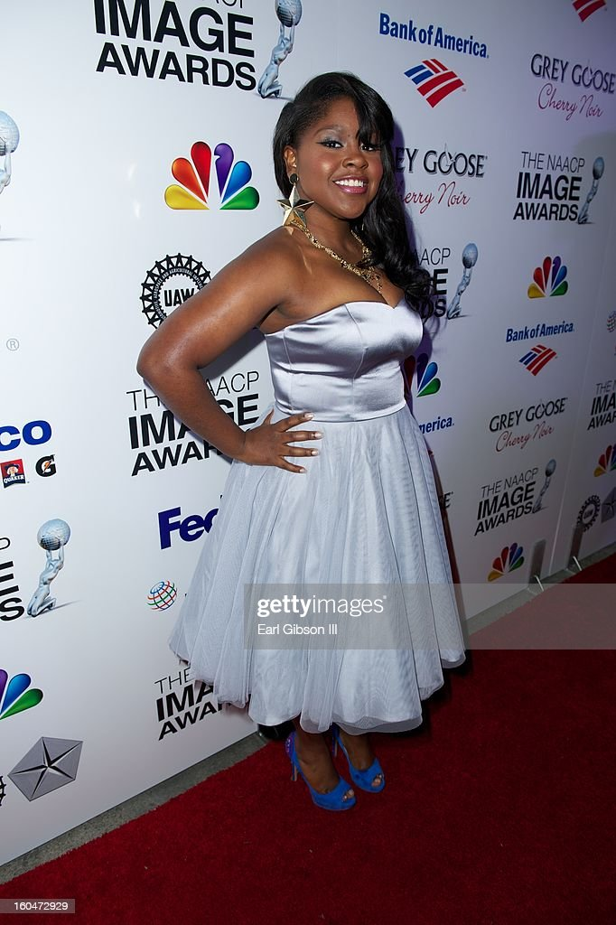 Shenell Edmonds attends the 44th NAACP Image Awards Pre-Gals at Vibiana on January 31, 2013 in Los Angeles, California.