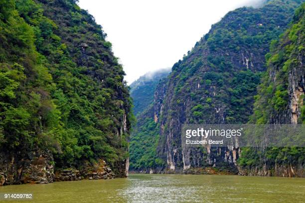 shennong stream, china - yangtze river stock pictures, royalty-free photos & images
