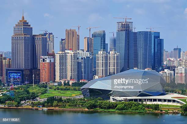 shenyang cityscape - shenyang stock pictures, royalty-free photos & images