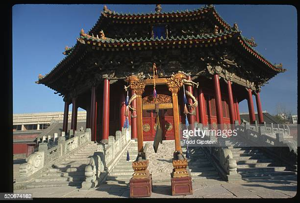 shenyang palace - gipstein stock pictures, royalty-free photos & images