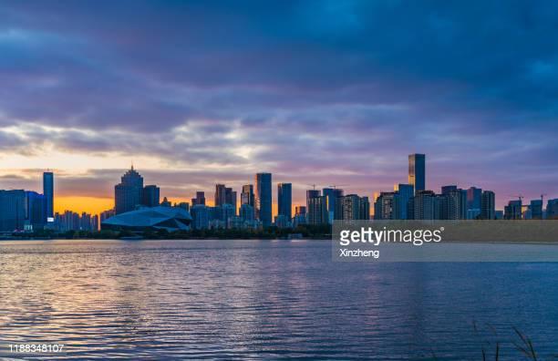 shenyang urban skyline - shenyang stock pictures, royalty-free photos & images