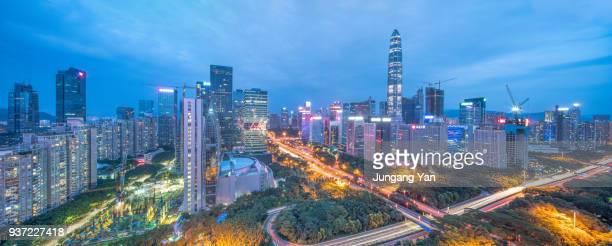 Shenzhen CBD at night