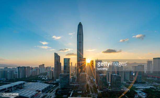 Shenzhen city downtown district