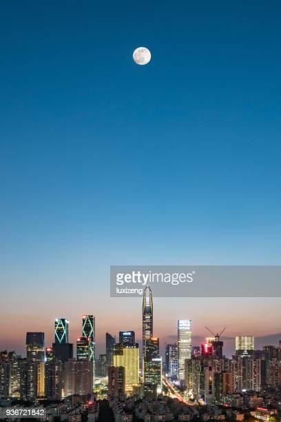 Innenstadt von Shenzhen city