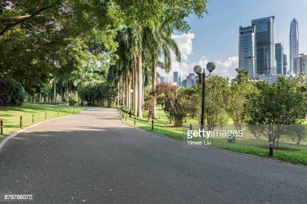 shenzhen park of guangdong province,china - park stock-fotos und bilder