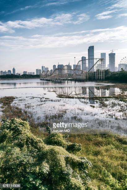 shenzhen xiangmihu noon - guangdong province stock photos and pictures