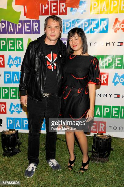 Shepard Fairey and Amanda Fairey attend PAPER MAGAZINE AOL and FRIENDS WITH YOU Present Rainbow City with a Performance by NERD at Rainbow City on...