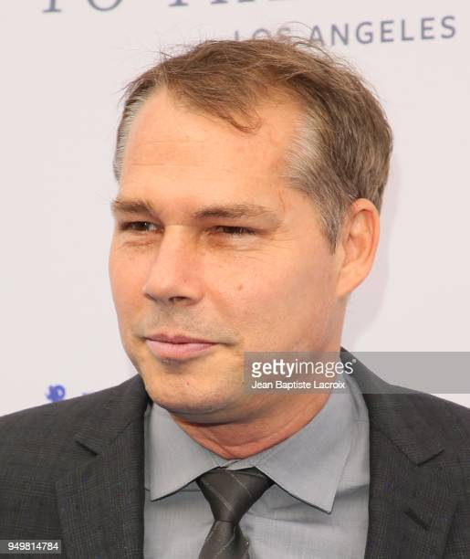Shepard Fairey attends The Humane Society of The United States' to The Rescue Los Angeles gala held at Paramount Studios on April 21 2018 in Los...