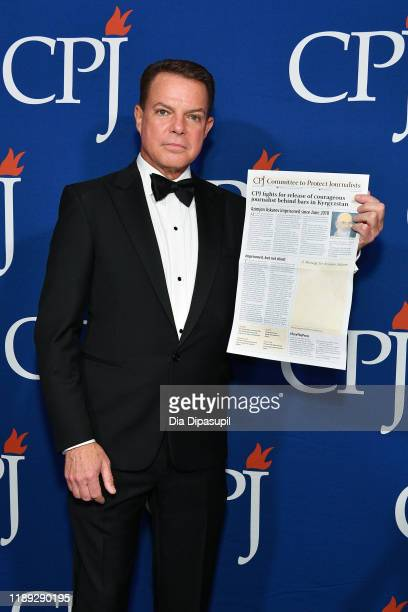 Shepard Smith attends the Committee to Protect Journalists' 29th Annual International Press Freedom Awards on November 21 2019 in New York City
