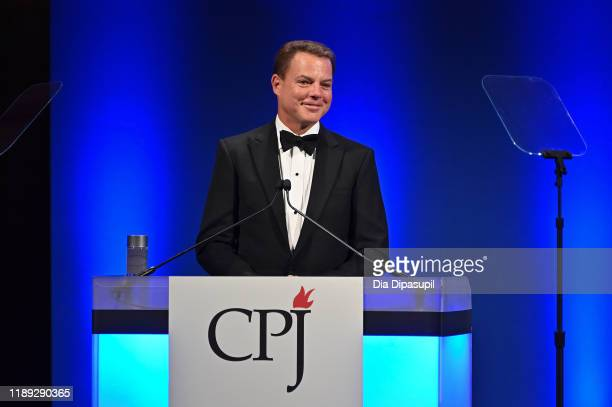 Shepard Smith hosts the Committee to Protect Journalists' 29th Annual International Press Freedom Awards on November 21 2019 in New York City