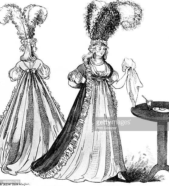 'Shepherds I have lost my waist Have you seen my body Sacrificed to modern taste I'm quite a hoddy doddy'' 1795 A satire on the unflattering fashions...