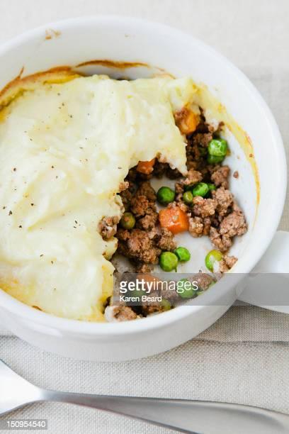 Shepherd's pie in bowl