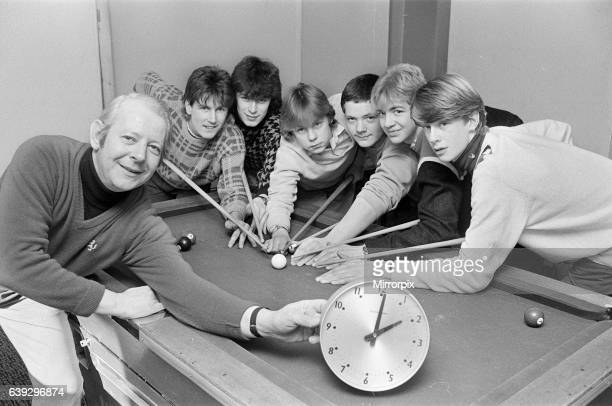 Shepley Youth Club leader Stewart Hughes kept an eye on the clock as club members took part in a 24hour pool marathon at the club which raised ø164...