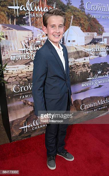 Sheppard Denton attends the Hallmark Channel And Hallmark Movies And Mysteries Summer 2016 TCA Press Tour Event on July 27 2016 in Beverly Hills...
