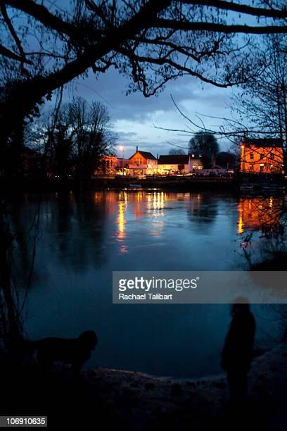 Shepperton at dusk