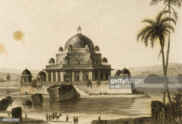 Sher Shah Suri Founder of the SurI Empire in North India Tomb of Sher Shah Suri in the Saasaram town of Bihar India IndoIslamic architecture designed...