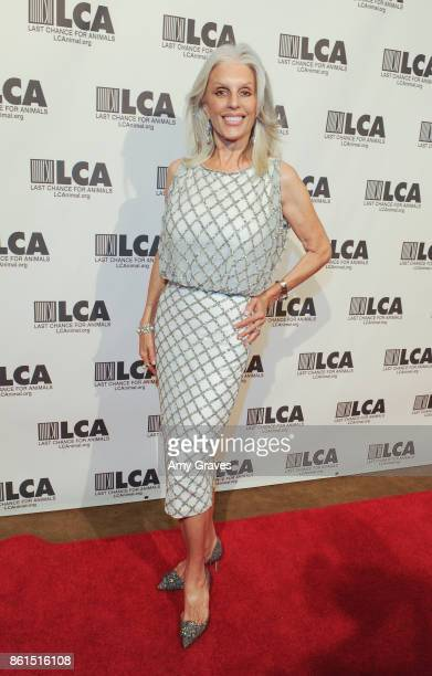 Shera Danese attends the Last Chance For Animals 33rd Annual Celebrity Benefit Gala - Arrivals at The Beverly Hilton Hotel on October 14, 2017 in...