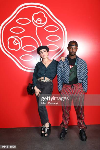 Shera Kerienski and guest attend the #Ultimune Launch Event on May 31 2018 in Paris France