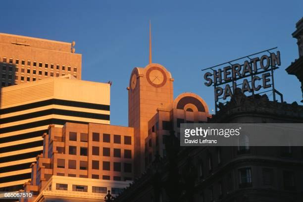 Sheraton Palace in downtown San Francisco