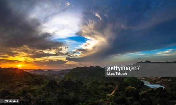 shere hills, jos - nigeria foto e immagini stock