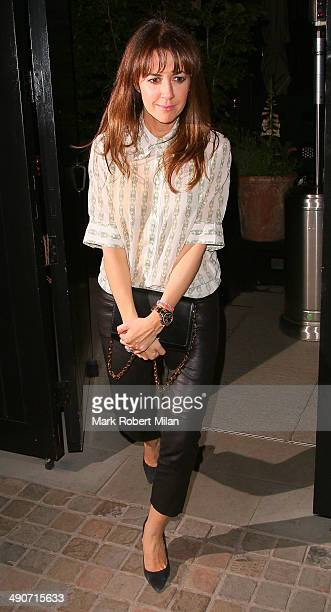 Sheree Murphy at the Chiltern Firehouse on May 14 2014 in London England