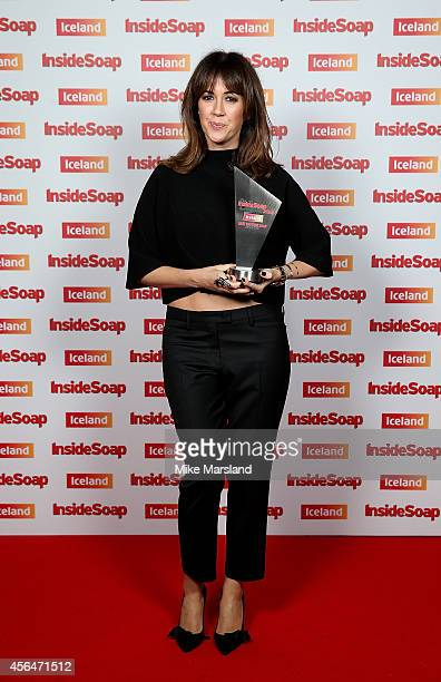 Sheree Murphy attends the Inside Soap Awards at Dstrkt on October 1 2014 in London England