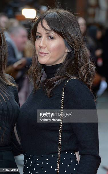 Sheree Murphy attends the Jameson Empire Awards 2016 at The Grosvenor House Hotel on March 20 2016 in London England