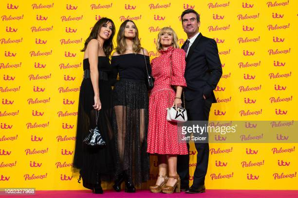Sheree Murphy Charley Webb Zoe Henry and Jeff Hordley attend the ITV Palooza held at The Royal Festival Hall on October 16 2018 in London England