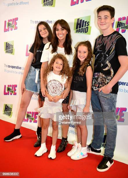 Sheree Murphy during Hits Radio Live at Manchester Arena on July 14 2018 in Manchester England