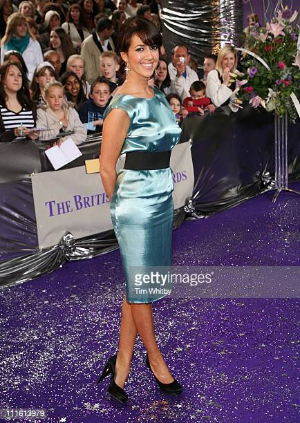 Sheree Murphy from 'Emmerdale' during British Soap Awards 2006 Arrivals at BBC Television Centre in London Great Britain