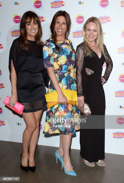 Sheree Murphy Gaynor Faye and Michelle Hardwick attend Lorraine's High Street Fashion Awards held at Vinopolis on May 21 2014 in London England