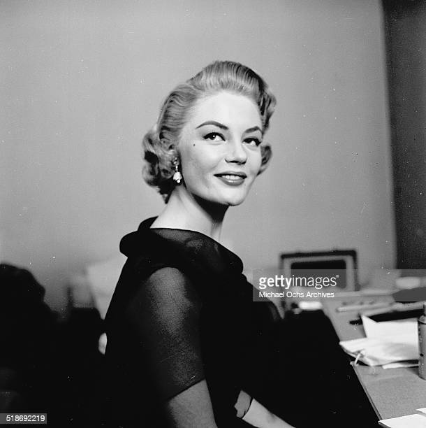 Sheree North attends the Oscar Nominations in Los AngelesCA