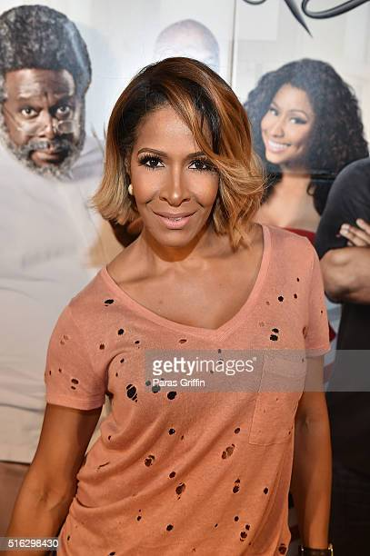 Sheree Whitfield attends 'Barbershop The Next Cut' advanced Atlanta VIP screening at Regal Atlantic Station on March 17 2016 in Atlanta Georgia