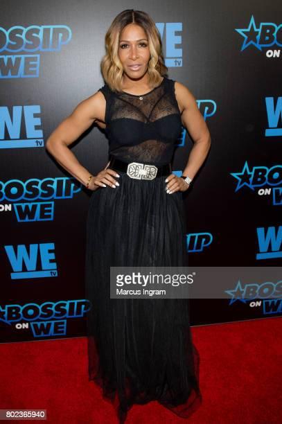 Sheree Whitfield attends 'Bossip On WE' Atlanta launch celebration at Elevate at W Atlanta Midtown on June 27 2017 in Atlanta Georgia