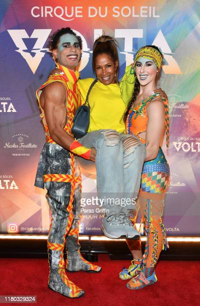 Sheree Whitfield attends the Atlanta premiere of VOLTA By Cirque du Soleil at Atlantic Station on October 10 2019 in Atlanta Georgia