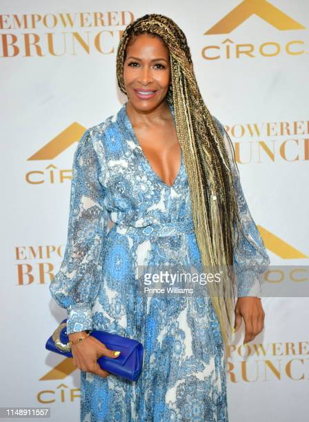 Sheree Whitfield attends the Empowered Brunch at Waldorf Astoria Atlanta Buckhead on May 11 2019 in Atlanta Georgia