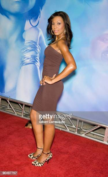 Sheree Whitfield attends the New York premiere of 'Tyler Perry's I Can Do Bad All By Myself' at the School of Visual Arts Theater on September 8 2009...