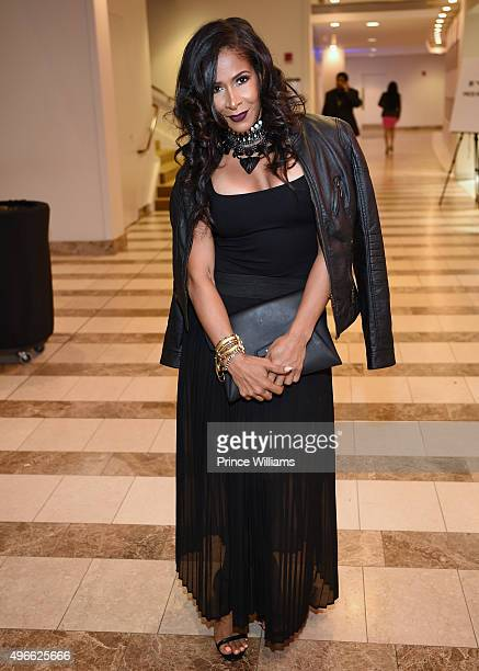 Sheree Whitfield attends the 'WE tv' Selling It In the ATL' Premiere' at Woodruff Arts Center on November 3 2015 in Atlanta Georgia