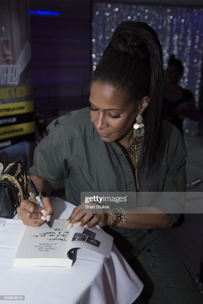 Sheree' Whitfield hosts 'Cupcakes With Sheree DC' Meet & Greet Affair for her book 'Wives, Fiancees and Side-Chicks of Hotlanta' at Stonefish Grill on August 11, 2017 in Washington, DC.